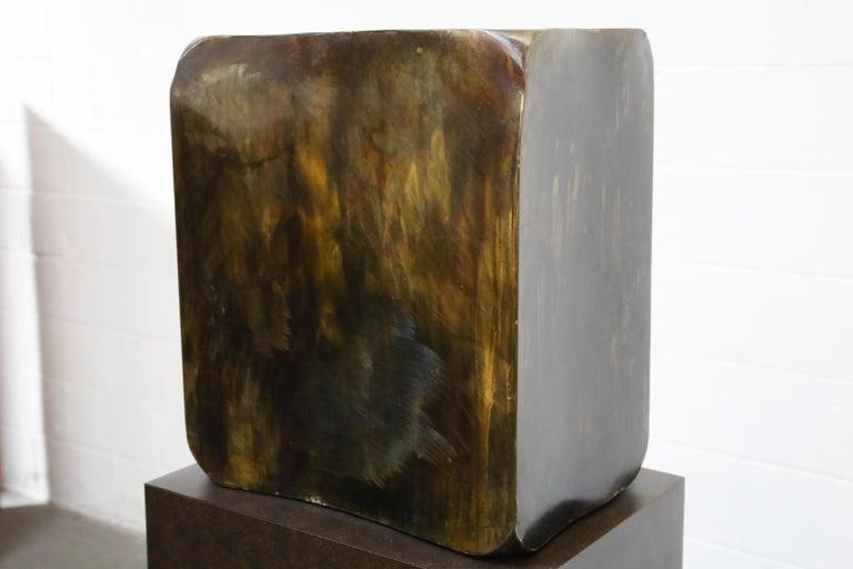 Philip and Kelvin LaVerne 'Aphrodite' Bronze Sculpture on Pedestal, 1960s Signed For Sale 10