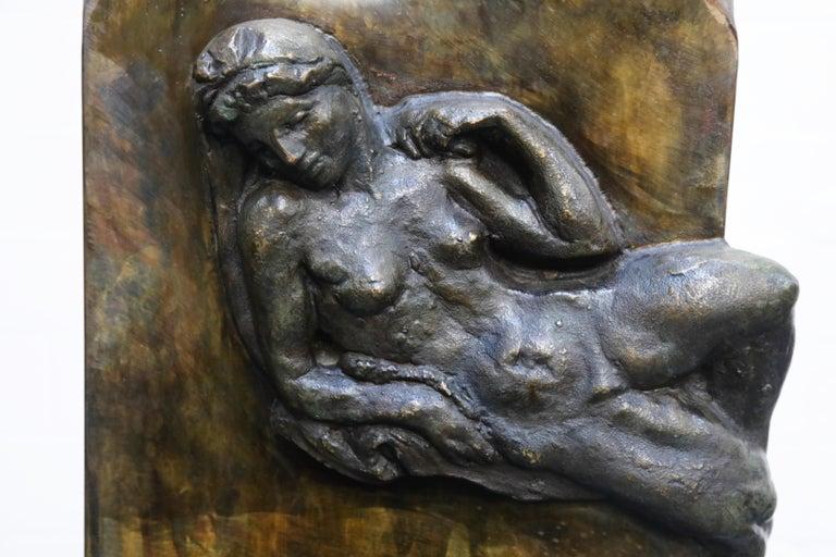 Philip and Kelvin LaVerne 'Aphrodite' Bronze Sculpture on Pedestal, 1960s Signed For Sale 12