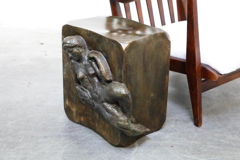 Philip and Kelvin LaVerne 'Aphrodite' Bronze Sculpture on Pedestal, 1960s Signed For Sale 13