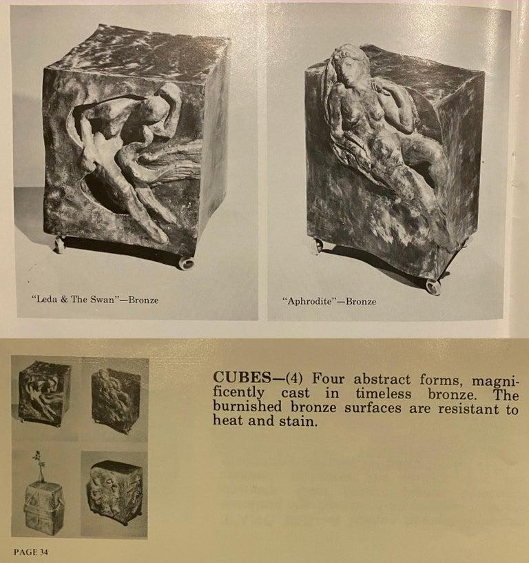 Philip and Kelvin LaVerne 'Aphrodite' Bronze Sculpture on Pedestal, 1960s Signed For Sale 14