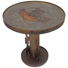 Philip and Kelvin Laverne Apres Picasso Occasional Table