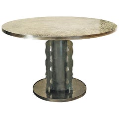 Philip and Kelvin LaVerne Bronze Table