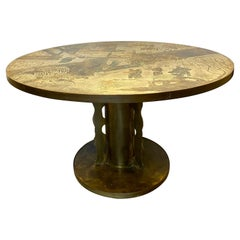 Philip and Kelvin LaVerne Chan Center / Dining Table, Mid-Century Modern