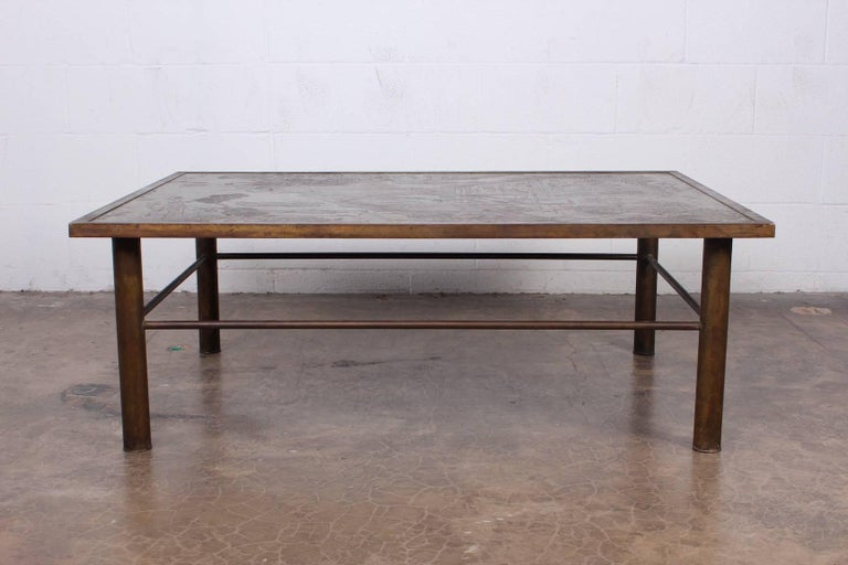 Philip and Kelvin LaVerne Chan Coffee Table In Good Condition For Sale In Dallas, TX