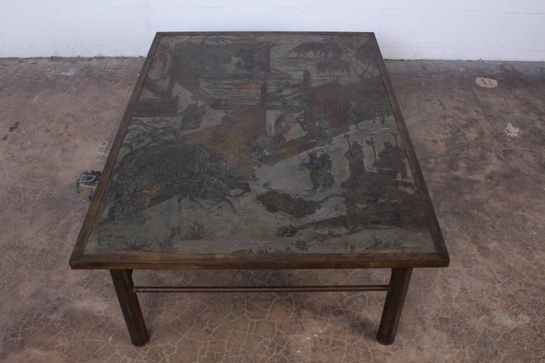 Late 20th Century Philip and Kelvin LaVerne Chan Coffee Table For Sale