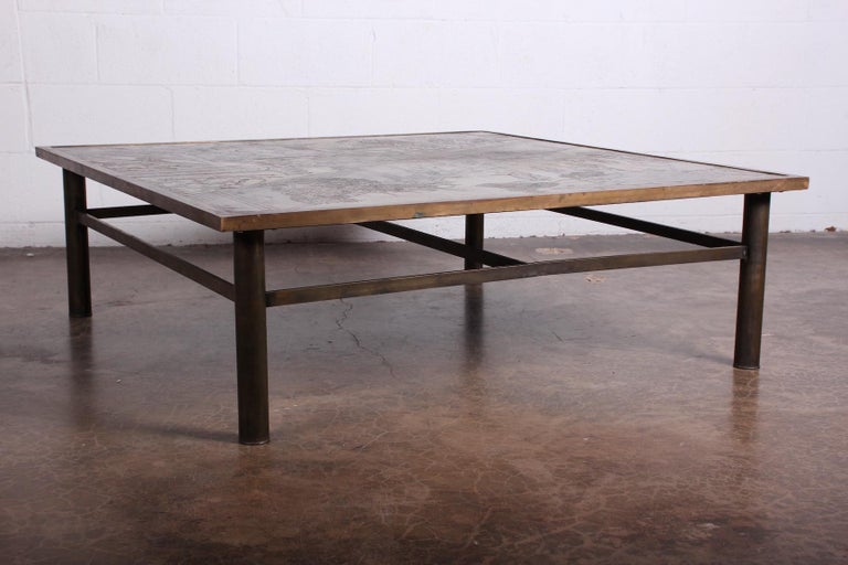 Philip and Kelvin LaVerne Coffee Table For Sale 6