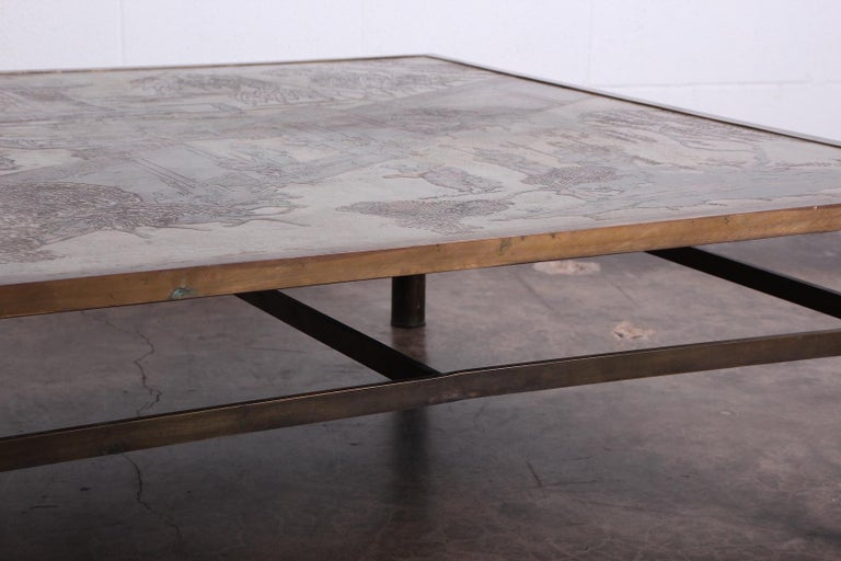 Philip and Kelvin LaVerne Coffee Table For Sale 7