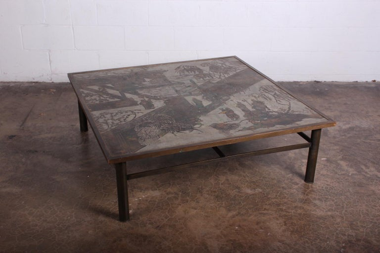 Philip and Kelvin LaVerne Coffee Table For Sale 8