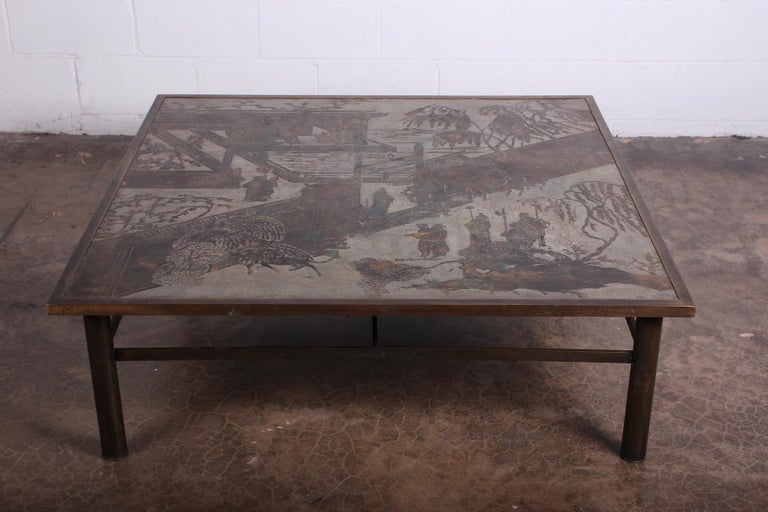 Philip and Kelvin LaVerne Coffee Table In Good Condition For Sale In Dallas, TX