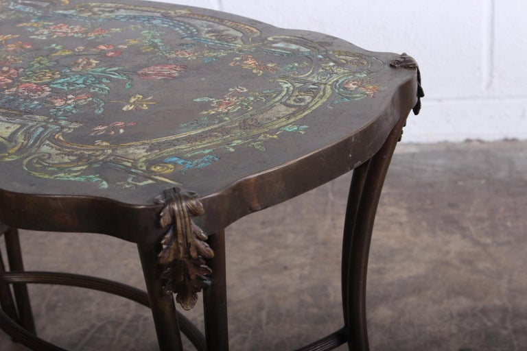 "Philip and Kelvin LaVerne ""Madame Pompadour"" Table For Sale 5"