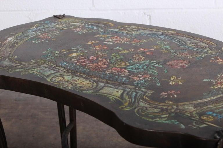 "Philip and Kelvin LaVerne ""Madame Pompadour"" Table For Sale 6"