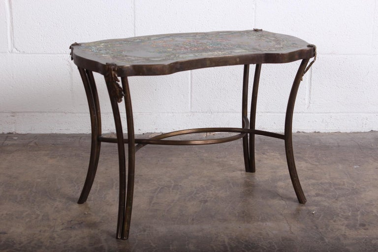 """Philip and Kelvin LaVerne """"Madame Pompadour"""" Table In Good Condition For Sale In Dallas, TX"""