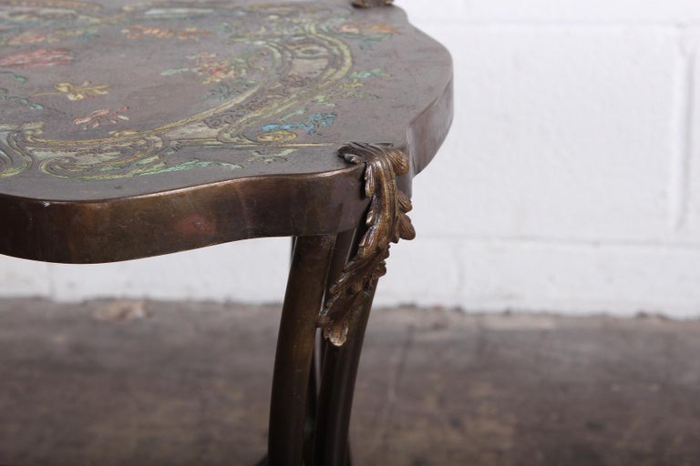 """Late 20th Century Philip and Kelvin LaVerne """"Madame Pompadour"""" Table For Sale"""