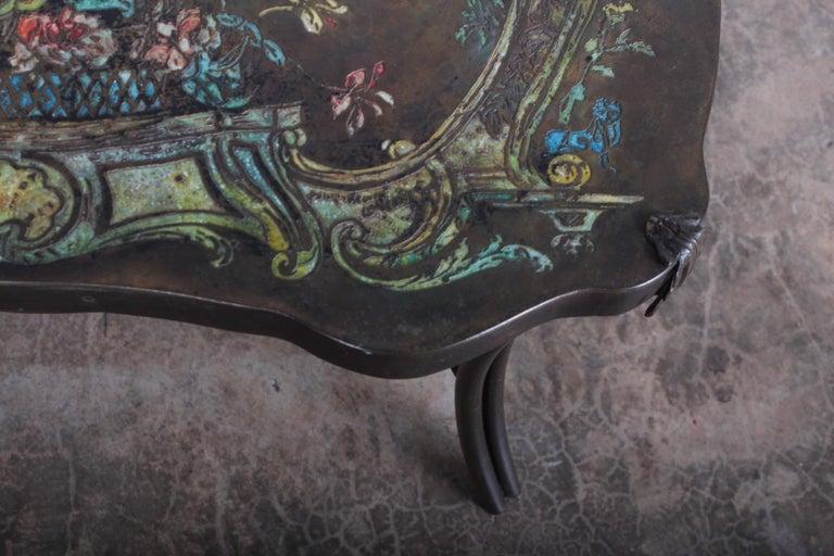 "Philip and Kelvin LaVerne ""Madame Pompadour"" Table For Sale 1"