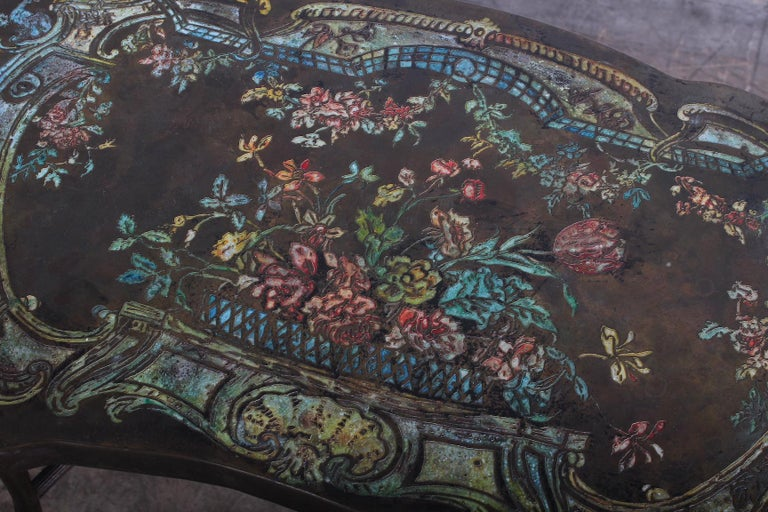 "Philip and Kelvin LaVerne ""Madame Pompadour"" Table For Sale 2"