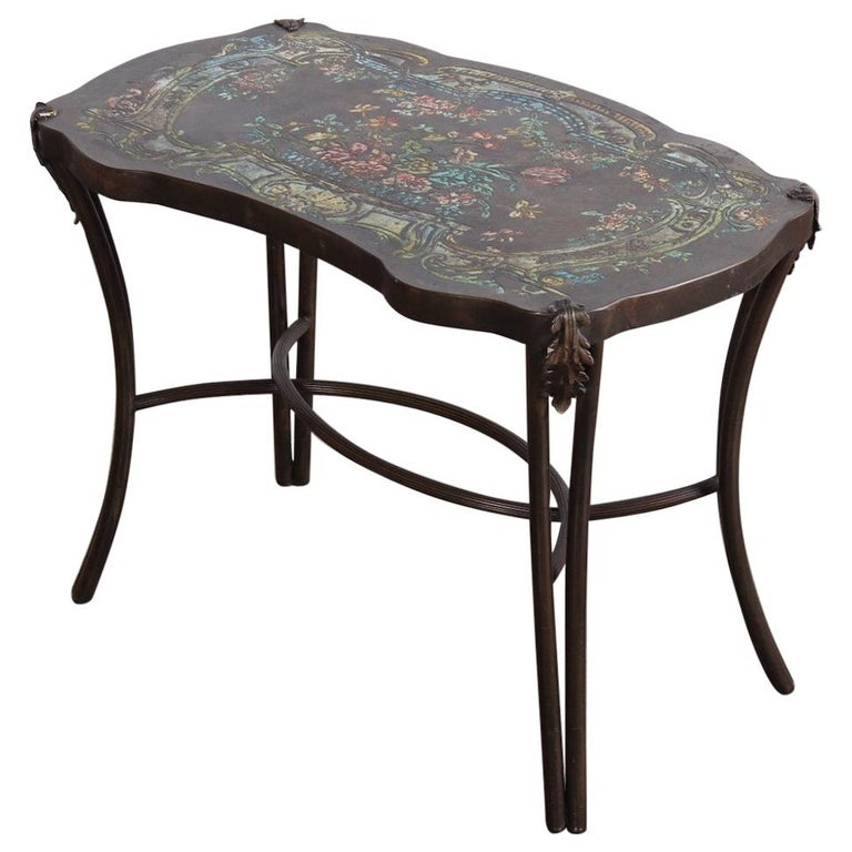 "Philip and Kelvin LaVerne ""Madame Pompadour"" Table For Sale"