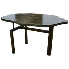Philip and Kelvin LaVerne Rare 'Turtle' Table