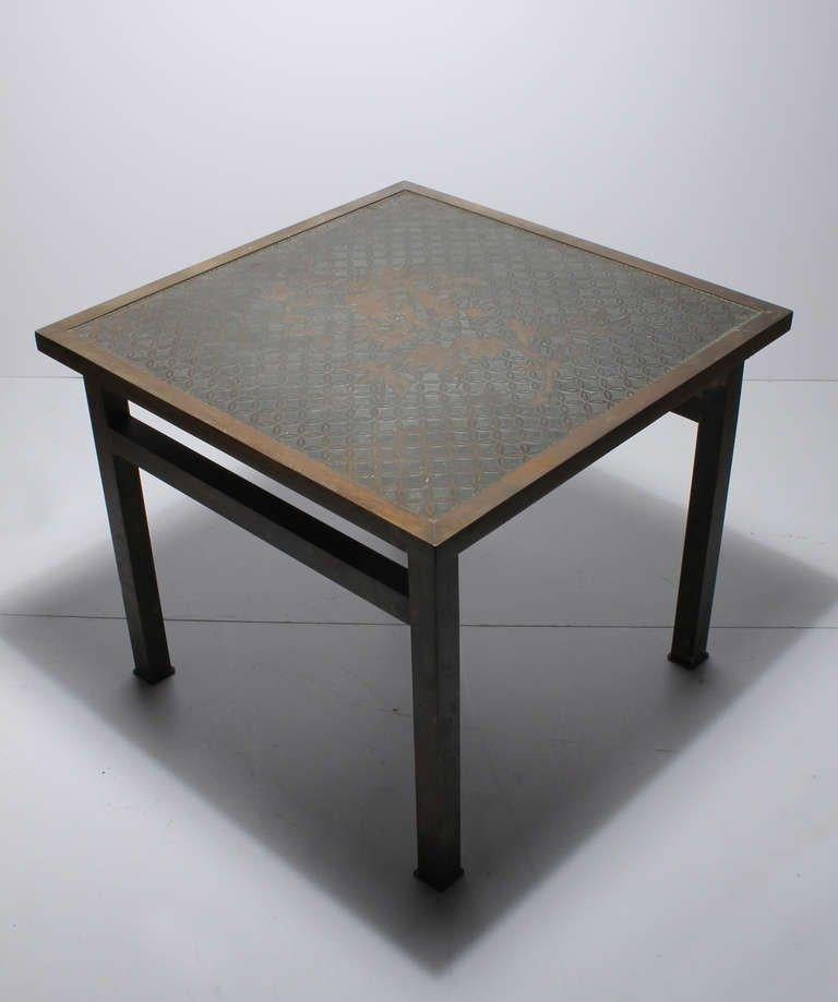 American Philip and Kelvin LaVerne Side Table For Sale