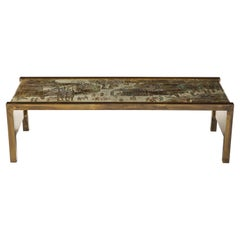 Philip and Kelvin LaVerne 'Spring Festival' Waterfall Coffee Table