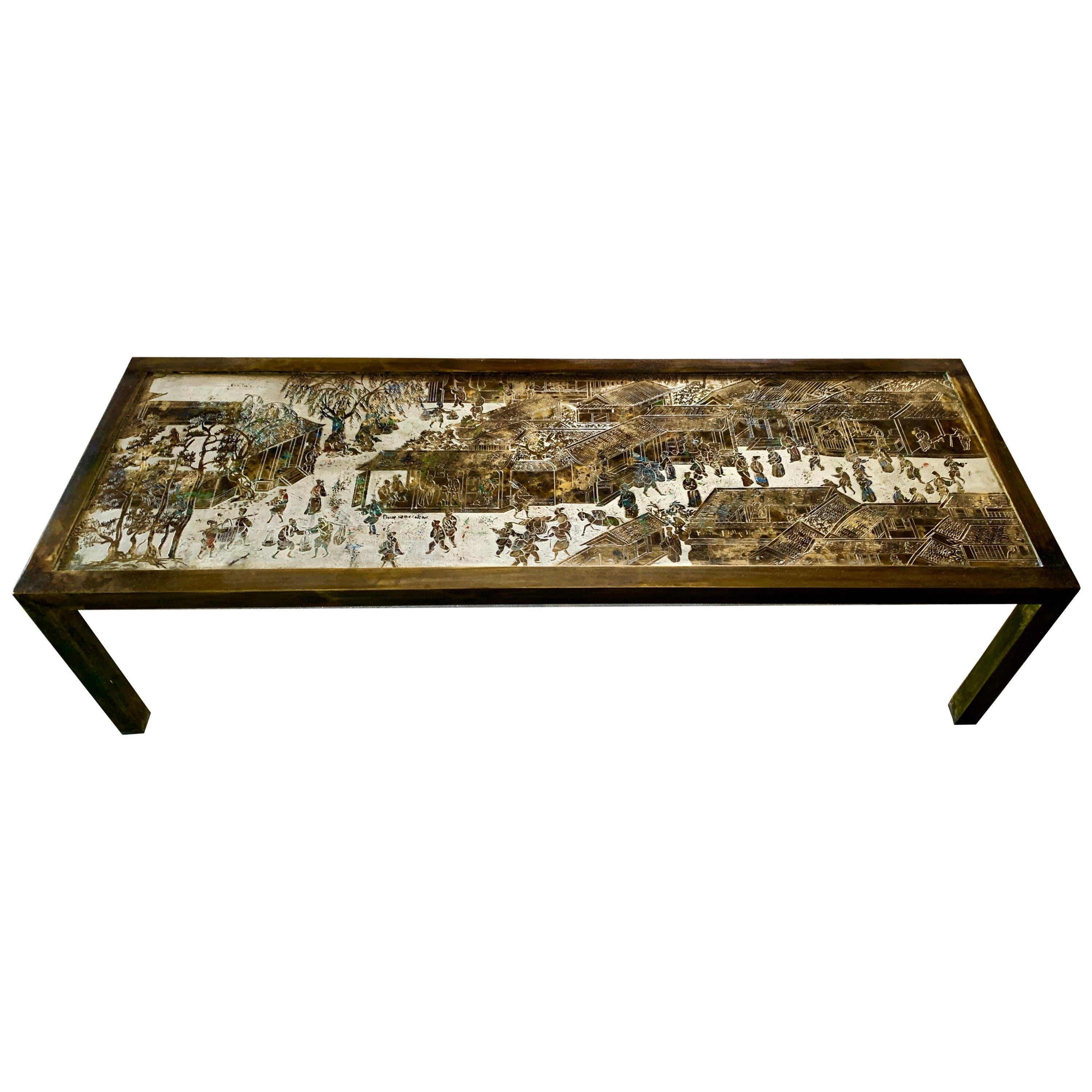 Philip and Kelvin LaVerne Table