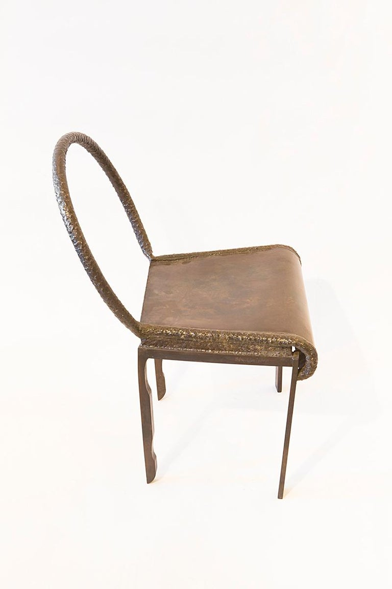 Late 20th Century Philip and LaVern Chair Single Edition For Sale