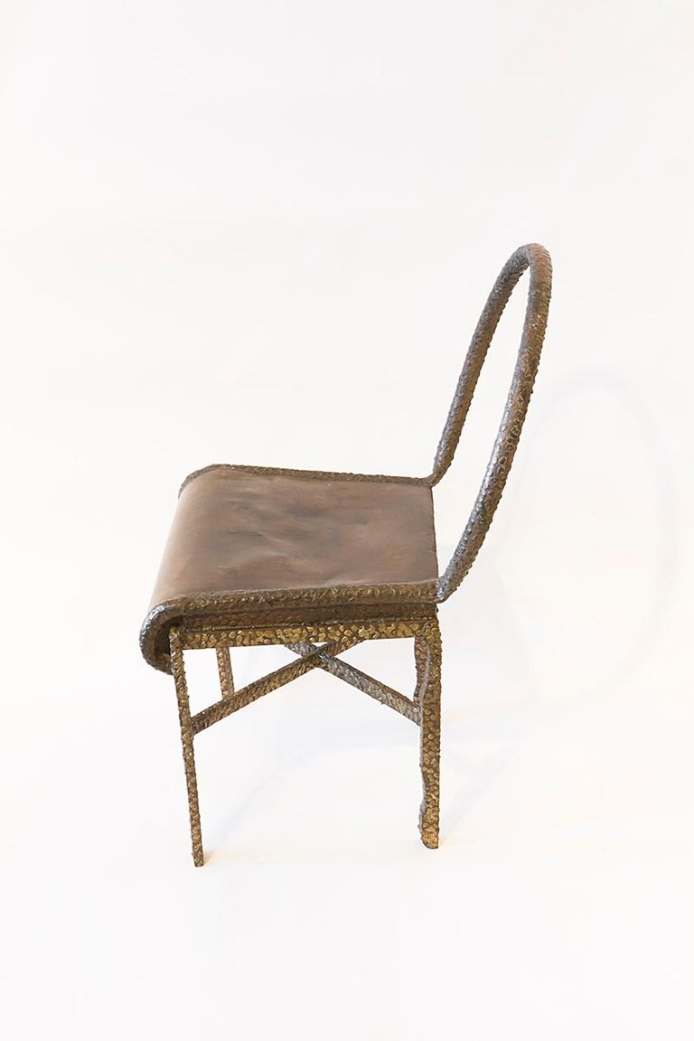 American Philip and LaVern Cross Base Chair Single Edition For Sale