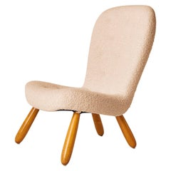 Philip Arctander Armless Clam Chair
