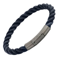 Tateossian Navy Philip Bracelet (Medium)