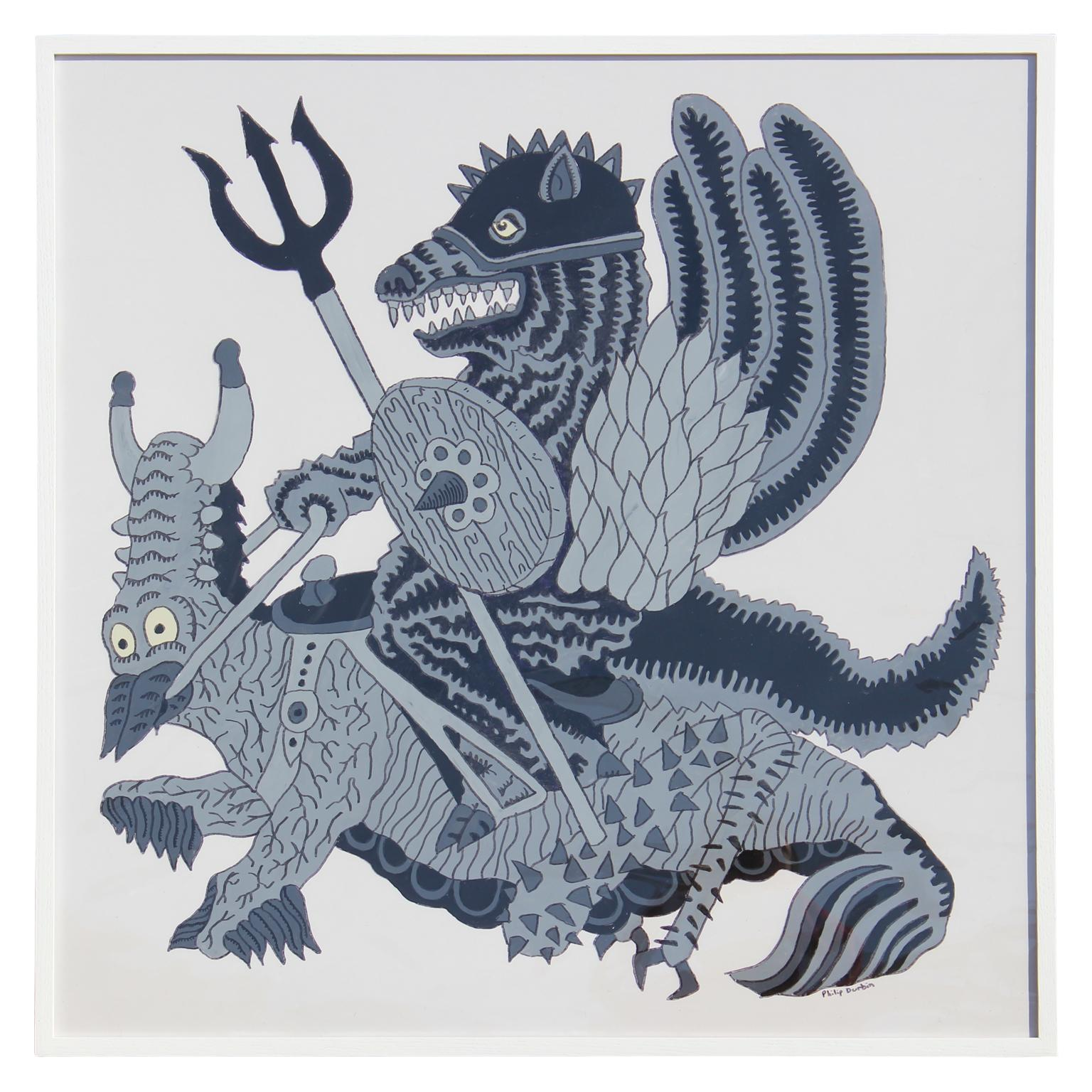 Contemporary Surrealist Mythical Creatures