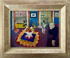Philip Evergood American Modernism WPA Social Realism Modern Still Life Interior