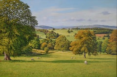 A FINE VIEW, Painting, Oil on MDF Panel