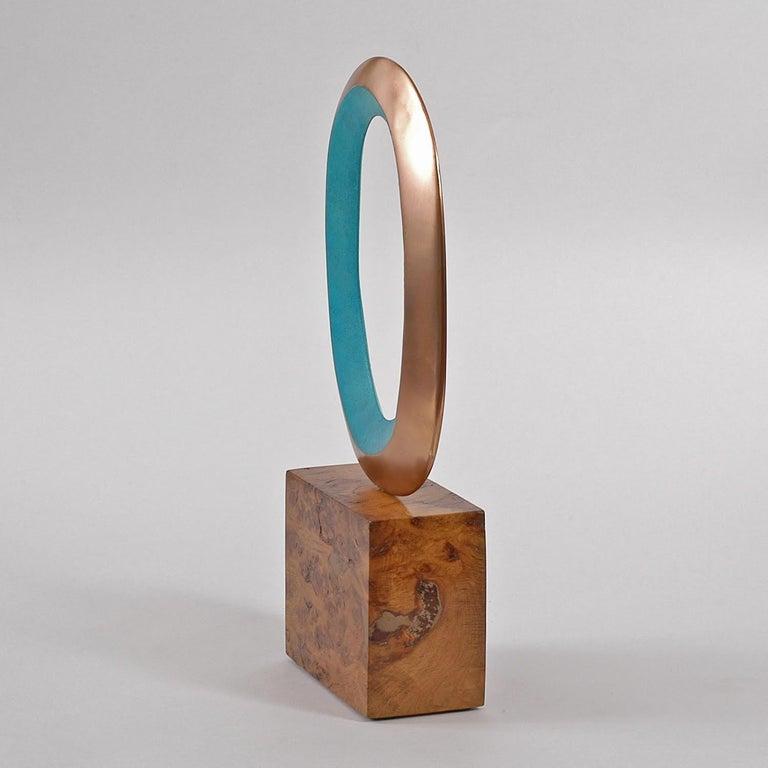 Naration II, Original Scultpture series, Bronze sculpture, Abstract sculpture - Sculpture by Philip Hearsey