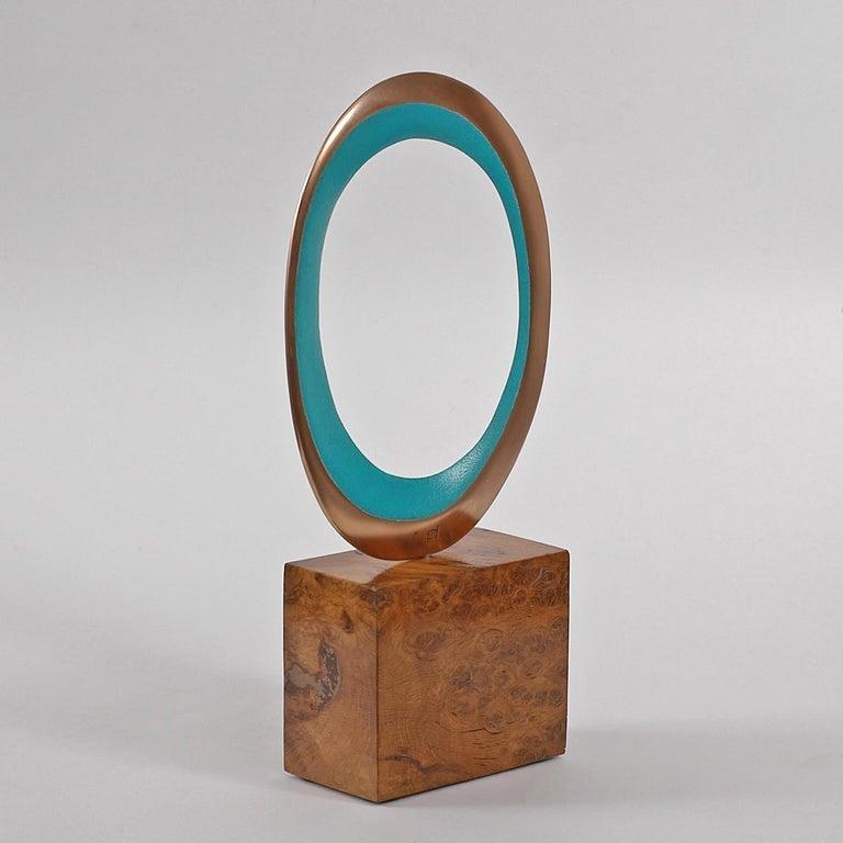 Naration II, Original Scultpture series, Bronze sculpture, Abstract sculpture - Gray Abstract Sculpture by Philip Hearsey