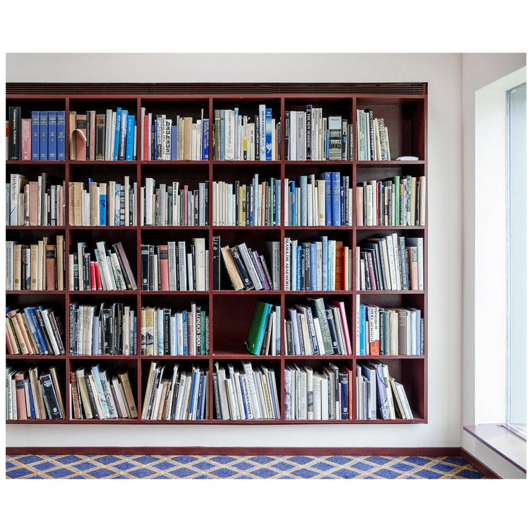 Philip Johnson Library New Canaan Photograph by Candida Höfer For Sale
