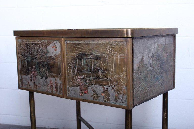 Mid-20th Century Philip & Kelvin Laverne Cabinet