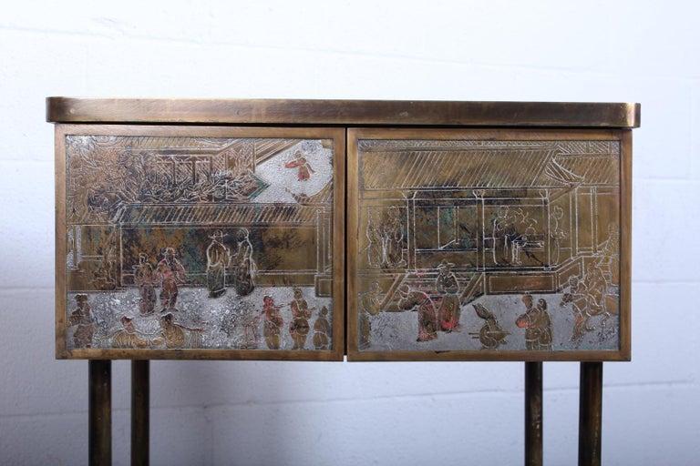 Brass Philip & Kelvin Laverne Cabinet