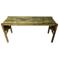 Philip & Kelvin LaVerne Oriental Console or Sofa Table