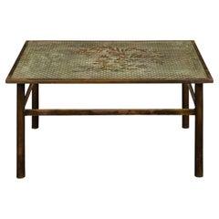 "Philip & Kelvin LaVerne Rare ""Kuan Su"" Coffee Table 1960s 'Signed'"