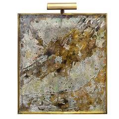 "Philip & Kelvin LaVerne Rare Painting ""Olympus"" 1970 'Signed'"