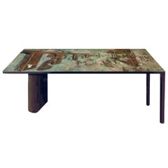 "Philip & Kelvin Laverne Rare ""Surrealistic"" Console Table, 1960s 'Signed'"