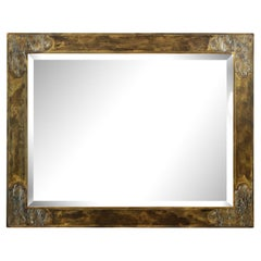 Philip & Kelvin LaVerne Superb Large Mirror in Bronze and Pewter 1960s 'Signed'