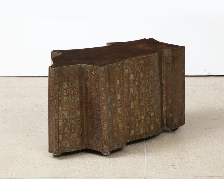 Mid-Century Modern Philip & Kelvin LaVerne Table For Sale