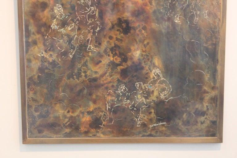 Philip & Kelvin Laverne Wall Plaque In Good Condition For Sale In Dallas, TX