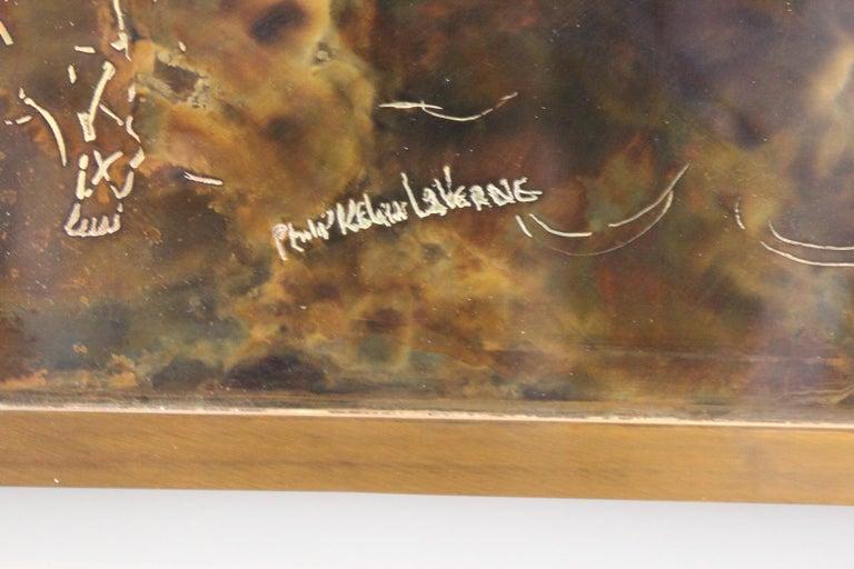 Philip & Kelvin Laverne Wall Plaque For Sale 1