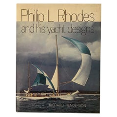 Philip L. Rhodes and His Yacht Designs Hard Cover Book, 1981