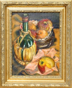 Italian Still Life, Early Painting by Philip Pearlstein 1940
