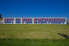 ART IS FOR EVERYBODY - CONTEMPORARY PHOTOGRAPHY - COLOUR PHOTOGRAPH - GRAFFITI