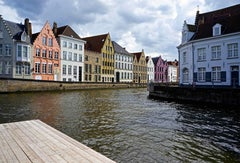 BRUGE WATERFRONT - 21st Century Contemporary Landscape Photograph