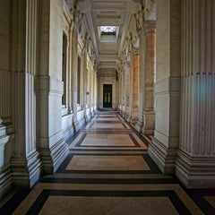 PALAIS DE JUSTICE, BRUSSELS - Contemporary Photograph by Philip Shalam.