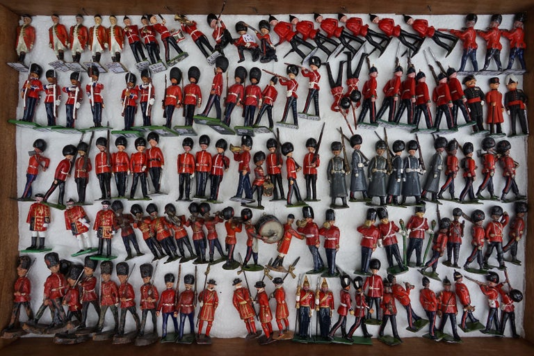 Philip Shalam Figurative Photograph - TOY SOLDIERS ON PARADE - CONTEMPORARY PHOTOGRAPH BY PHILIP SHALAM